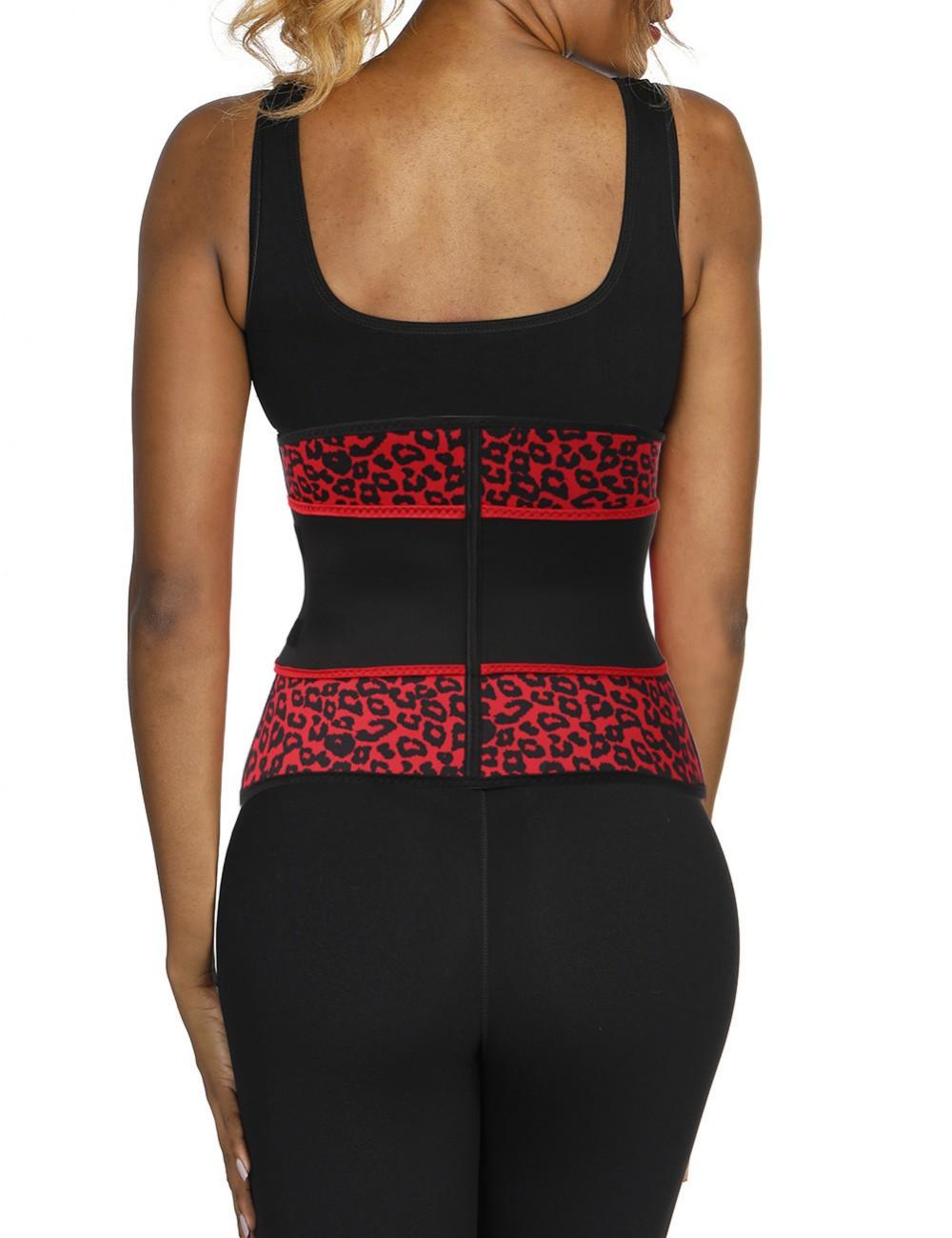Neoprene Leopard Belt Big Size Best Shapewear For Stomach Custom Logo