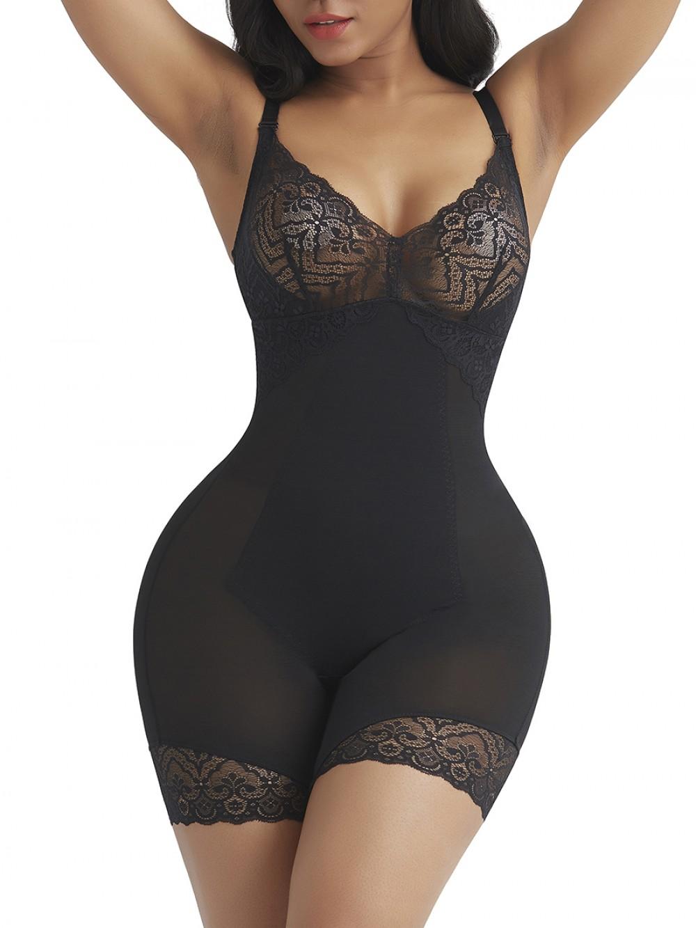 Snug Black Shapewear Tummy Control Removable Straps Best Tummy