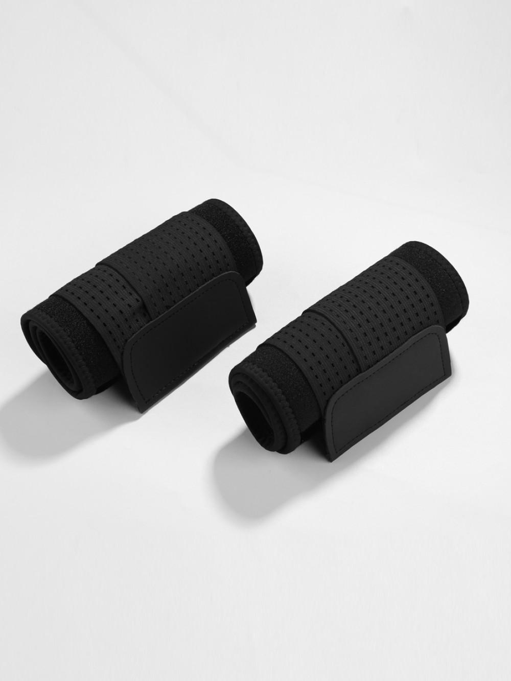 Black Neoprene Slimming Elastic Bands Arm Shaper Custom Logo