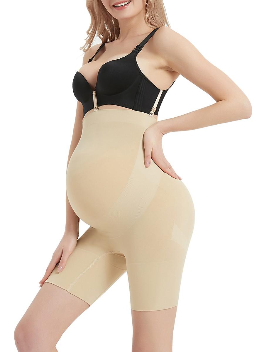 Natural Skin Color Large Size Postpartum Shaper Buckles Comfort Devotion