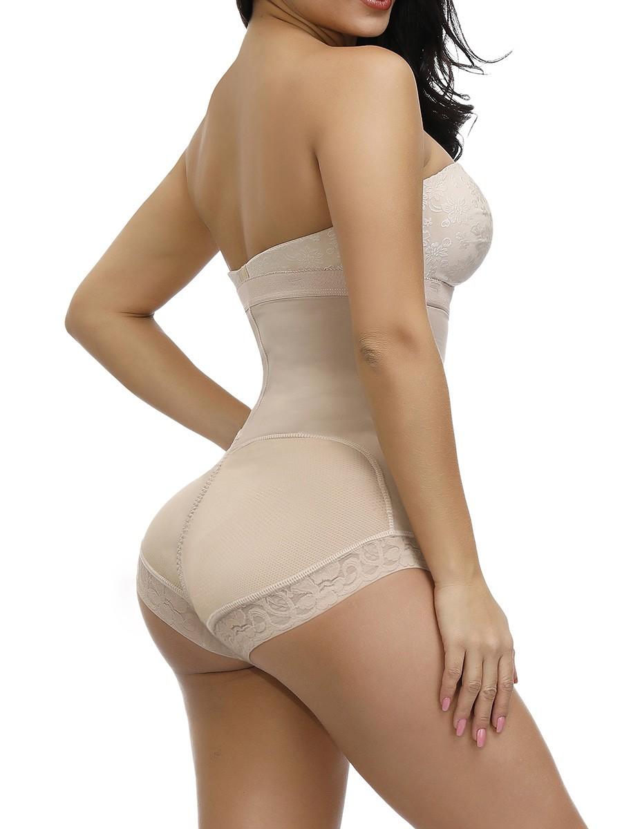 High Elasticity Skin Flat Tummy Plus Size Adjustable Straps Shapewear Amazing Shape